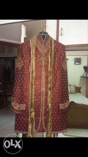 Groom sherwani xxl size very rich piece | Posot Class
