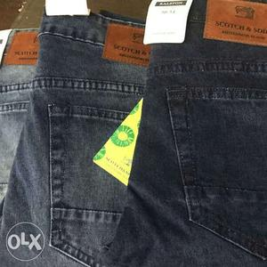 High Quality Export surplus denim jeans available