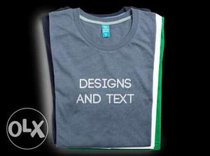 Order on Printing design on T-shirt (any kinds)