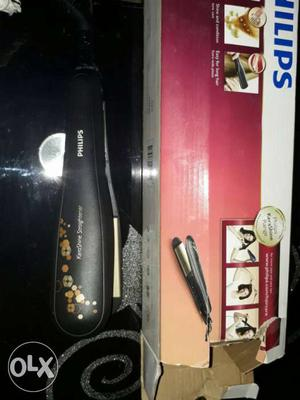 Unused philips hair straightner