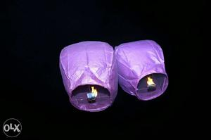 10 IMPORTED Paper sky Lanterns