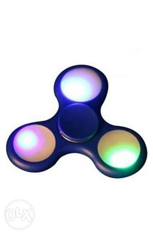 Smiles Creation Fidget Spinner With Light Hand