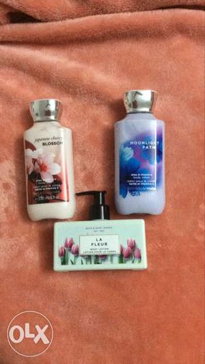 Bath and body works body lotion new 800each
