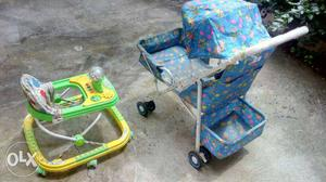 Baby stroller and walker is up for sale in