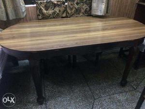 Dining table with 6 chairs + FREE 2 TABLE CLOTHS AT BEST