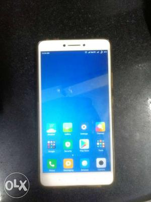 Mi max prime 128gb 3 month only using mobile only