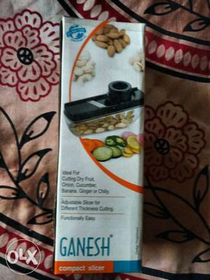 Sealed pack. compact slicer.
