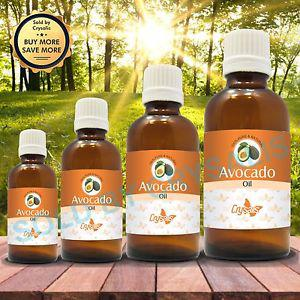 AVOCADO OIL 100% NATURAL PURE UNDILUTED UNCUT CARRIER OIL