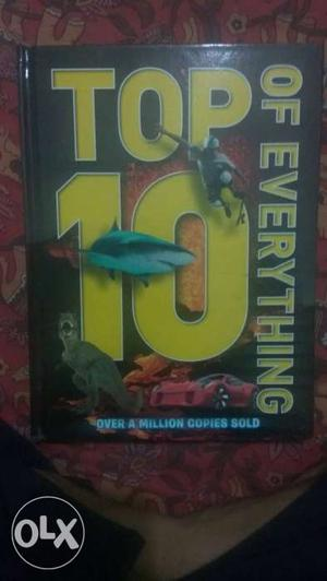 Brand new book on top 10 of everything.