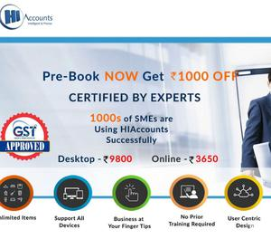 GST Accounting software | HIAccounts Bangalore