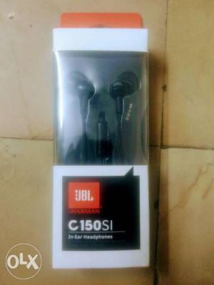 Jbl C150si In Ear Earphone.. Oly 11 Days Old..
