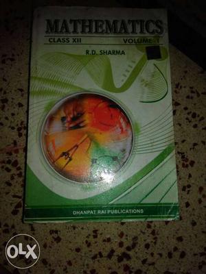 Mathematics Class-XII R.D. Sharma