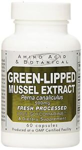 Amino Acid & Botanical Supply Green Lipped Mussel Extract