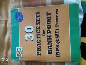 Bank PO Exam practice book with CD