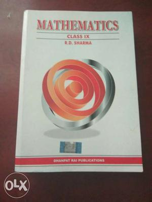 Mathematics Class IX R. D. Sharma Book Latest syllabus in