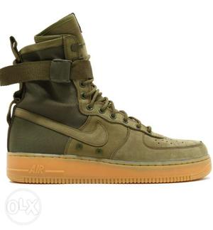 Nike air force new shoes size 7 and 8 available