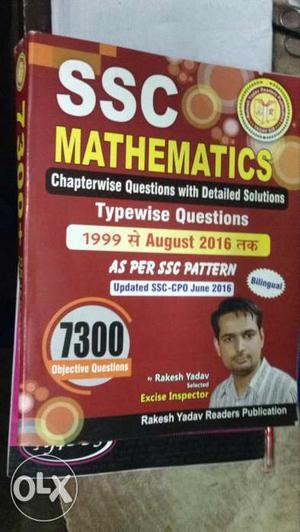 SSC Mathematics Typewise Questions Book