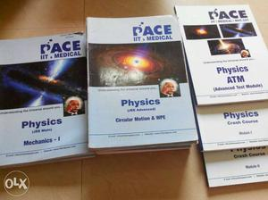 Set of 58 books of Pace jee preparation books for