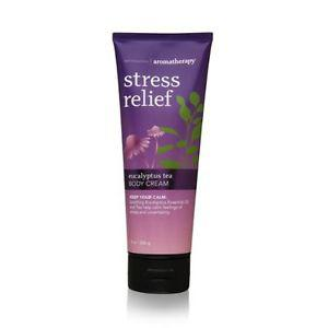 Bath Body Works Aromatherapy Stress Relief Eucalyptus Tea