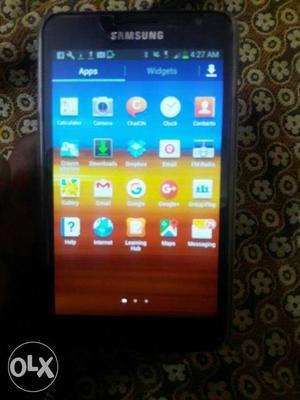 Samsung galaxy NOTE 1 only phonE no box no bil