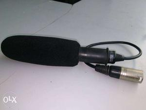 Black Dynamic Microphone