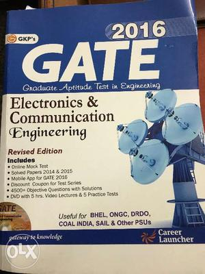 GATE book with CD