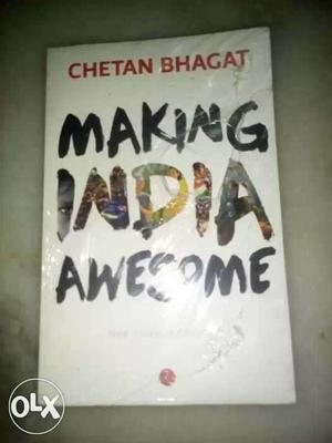 New Seal pack Making India Awesome By Chetan Bhagat