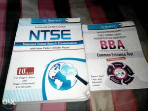 These two book for sell one for NTSE exam and