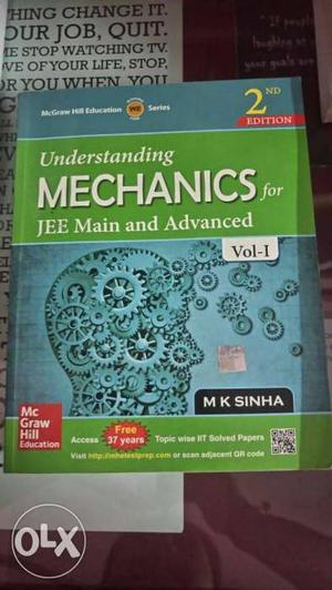 Understanding Mechanics for JEE mains & advanced by M.K.