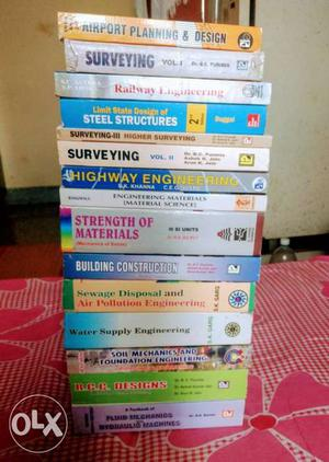 Want to sell my all new civil engineering books.
