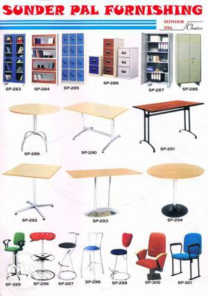 We deals in all kind of furnitures and almirahs.