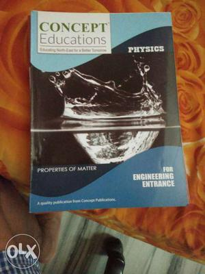 Concept Educations For Engineering Entrance Book