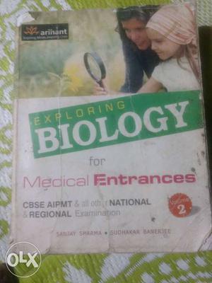 Exploring Biology Book Arihant.