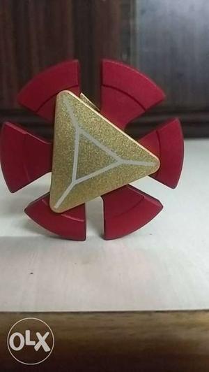Iron man fidget spinner brand new 2 side spinner