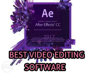 Adobe After Effects CC  FULL PAID VERSION AT JUST RS 499