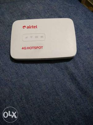 Airtel 4G device,I bought it for  in month of
