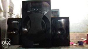 Black Philips Shelf Stereo