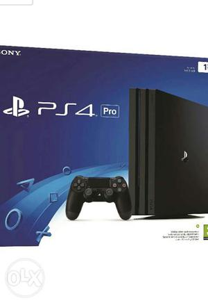 Brand New ps4 pro 1TB sealed pack without warranty