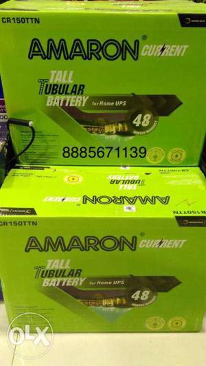 Inverter Battery Amaron 12V 165AH 48 Months