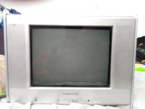 Videocon 14inch Crt Tv With Remote Working
