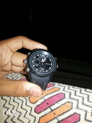 Watch with spy camera,new condition,internal