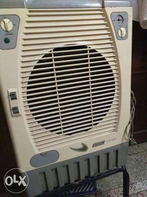 White And Gray Evaporative Air Cooler