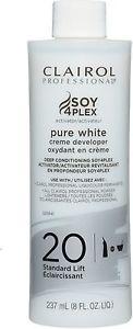 Nioxin Clairoxide Pure White 20 Volume Creme Developer 8 oz
