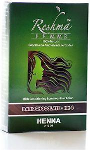 Reshma Femme Rich Conditioning Luminous Hair Color, Dark