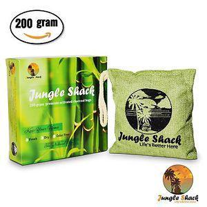 Activated Charcoal Odor Eliminator Bag- 200g Natural Air