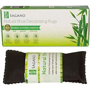 Best Activated Charcoal Shoe Deodorizer By Sagano - 2x All