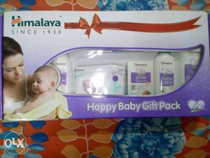 Gift pack of baby items.. Himalaya brand.. sealed