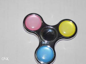 Pure Metal Fidget Spinner with best spinning time