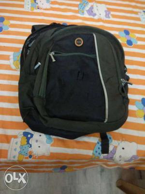 Rhythm school bag in good condition green colour