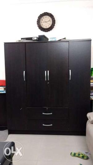4 door wardrobe in good condition
